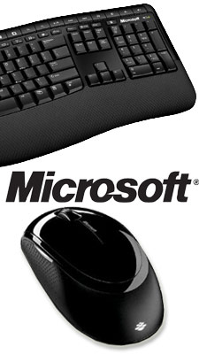 microsoft wireless comfort keyboard 5000 how to connect
