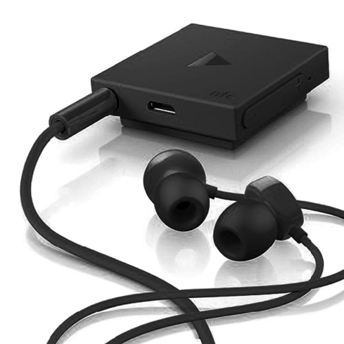 official nokia bh 121 clip on wireless bluetooth in ear stereo headphones black ebay. Black Bedroom Furniture Sets. Home Design Ideas
