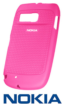 NEW NOKIA CC 1016 PINK SILICONE SKIN CASE FOR NOKIA E6